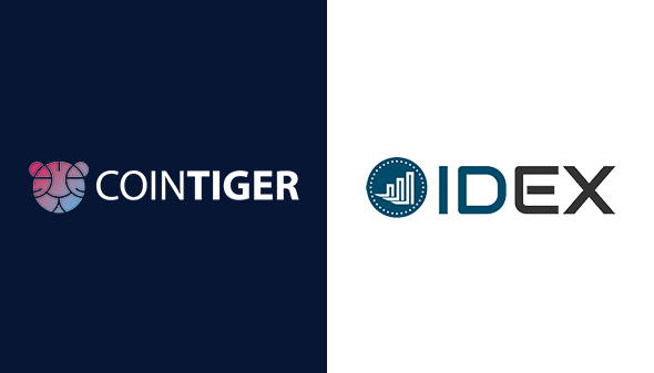 Introducing CoinTiger and IDEX